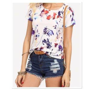 Boutique Tops - 🌸 Spring Floral T-Shirt