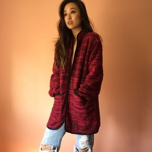 River Island Jackets & Blazers - River Island Berry Boucle Coat