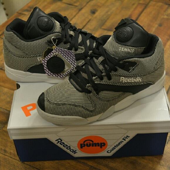 Reebok  Court Victory Pump Tech  Sneaker 50b60c771a