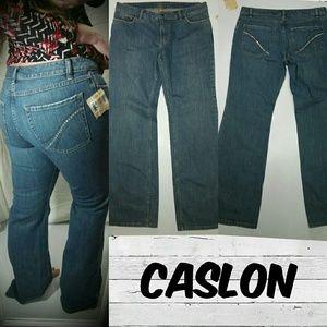 Caslon Denim - Caslon Bootcut size 12 with Rhinestones