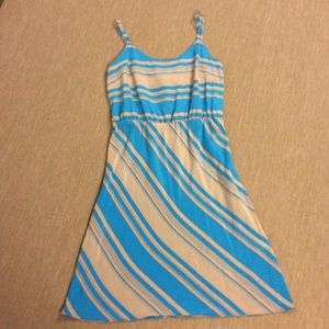 Amanda Uprichard Dresses & Skirts - AMANDA UPRICHARD AU Blue 100% Silk Dress Size M
