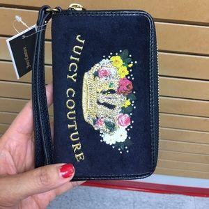 Juicy Couture gorgeous velvet wallet