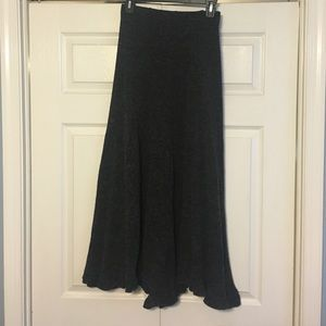 Chicwish wool midi skirt