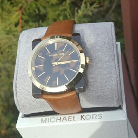 629269fb0766 New Michael Kors Kempton MK Glam watch MK2484