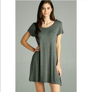 Fashionomics Dresses & Skirts - LAST 1! Charcoal Dress 💕