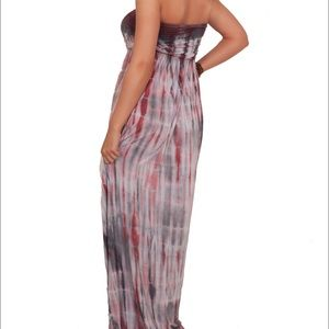 Spare Skirts - Tie Dye Maxi Dress
