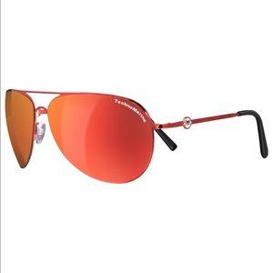 Technomarine Other - Technomarine Red/Orange Aviator Sunglasses