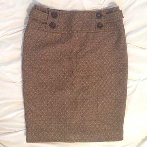 Anthroologie Tweed Sanctuary Skirt