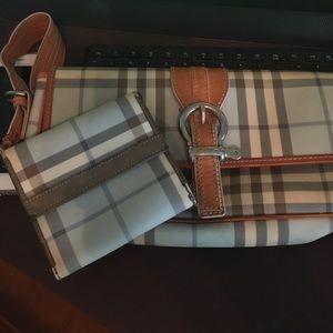 Burberry Handbags - Burberry Bag and wallet