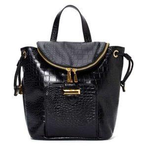 Snob Essentials Handbags - Snob Essentials Faux Leather Mini Backpack