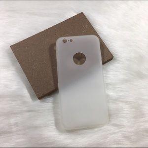 Plain clear iPhone 6 6s case