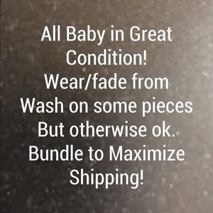 Other - Baby Clothes info!
