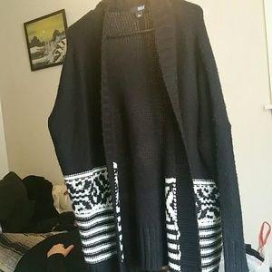 NWOT Large oversized women's sweater cardigan