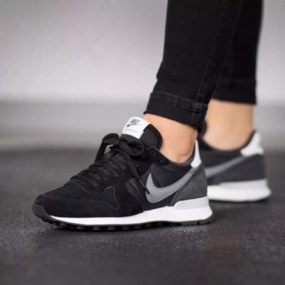 on sale 2cd6a 8f7cd Womens Nike Internationalist Suede Sneakers