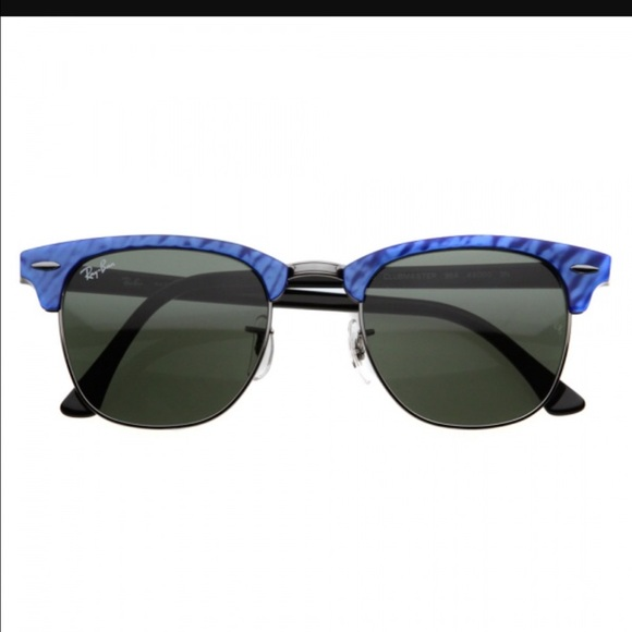 ray ban clubmaster blue wave