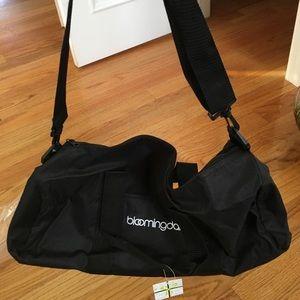 Brand new Bloomingdales duffle bag