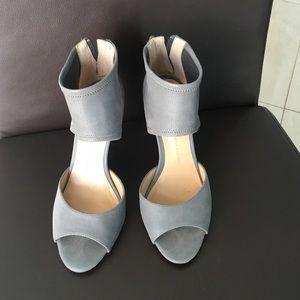 Grey banana republic heels size 7