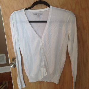 Whit cardigan Old Navy size M