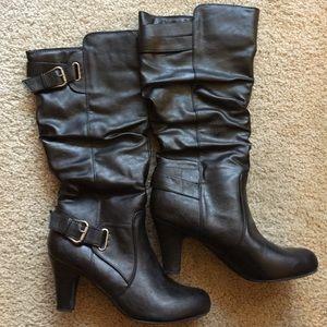 Madden Girl Shoes - Madden Girl Poche 9.5 Black Boots!