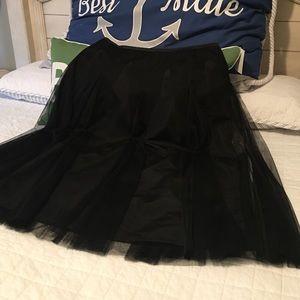 Alex Evenings Dresses & Skirts - Black Long Skirt