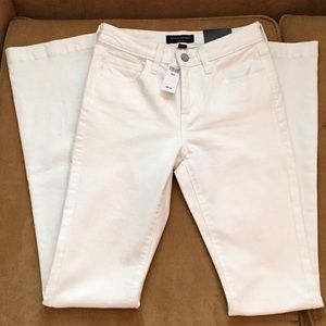 Banana Republic white jeans