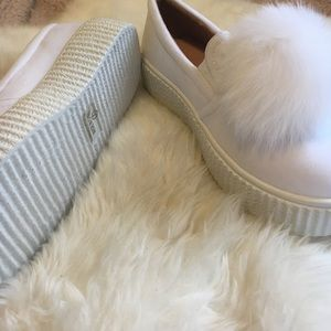 Chase + Chloe Shoes - Pom Pom Shoes
