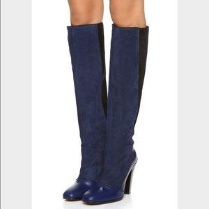 Derek Lam Shoes - Derek Lam Blue Carmen Boots