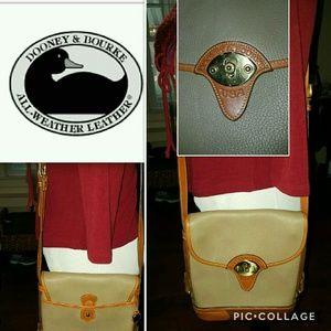 Dooney & Bourke vintage Tack shoulder bag
