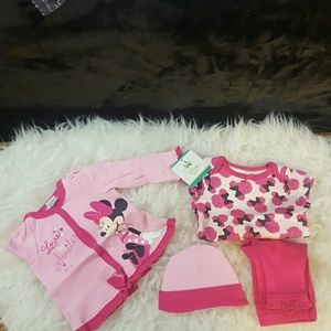 Disney baby  Other - 💕🍼Precious NWT, Minnie Mouse, 4 piece set