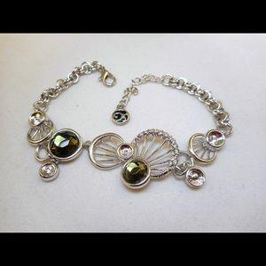 Jewelry - NWOT Bracelet with Smokey Topaz Stones