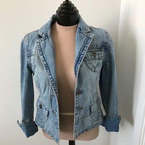 My Star Denim Jackets & Blazers - Light denim jean jacket