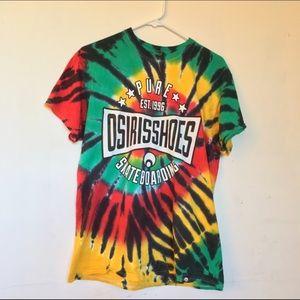 Osiris Tops - Tie dye Osiris Shirt Size:M
