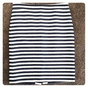 Adorable Nautical Pencil Skirt