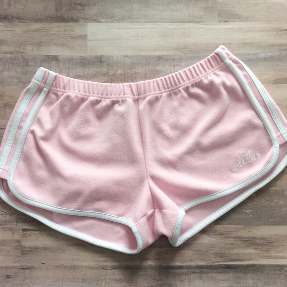 adidas terry cloth shorts