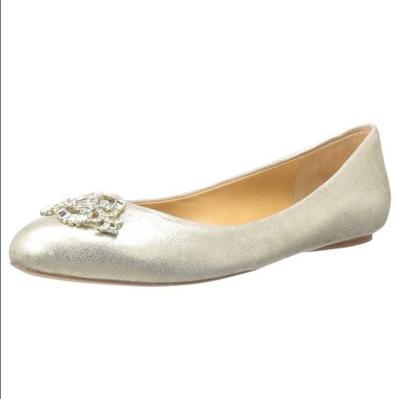 Badgley Mischka scarpe   Ballie Pelle  Ballet Flat Sz 85  Pelle  Poshmark c61325