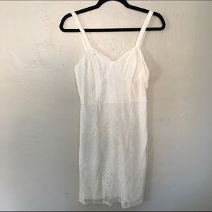 NWOT white lace dress