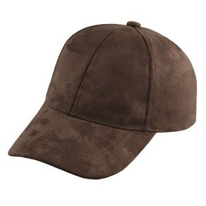  RICH BROWN SUEDE CAP