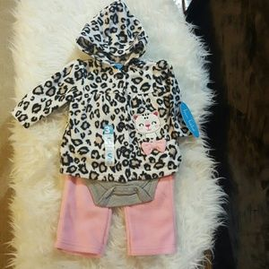 Bon Bebe Other - NWT, 3piece, soft, cozy fleece set