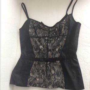 Dolce & Gabbana Tops - Dolce and Gabbana black lace cami top-nwt!