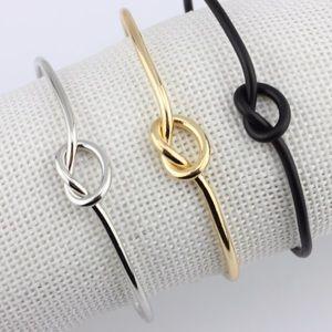 Jewelry - Gold, Silver, & Black Knot Bracelets!
