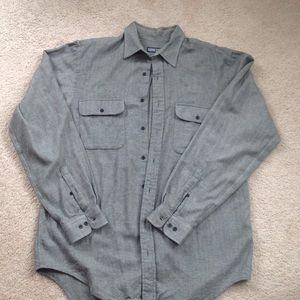 Men's flannel Lands' End shirt