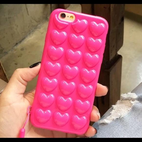 ce86831d4b Accessories   Iphone 3d Heart Bubble Phone Case   Poshmark