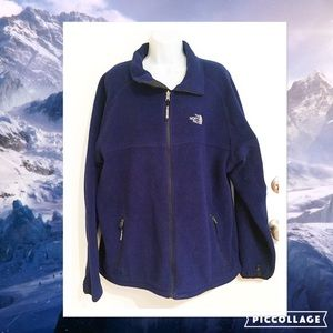 North Face Other - North Face Navy Blue Men's Fleece Jacket