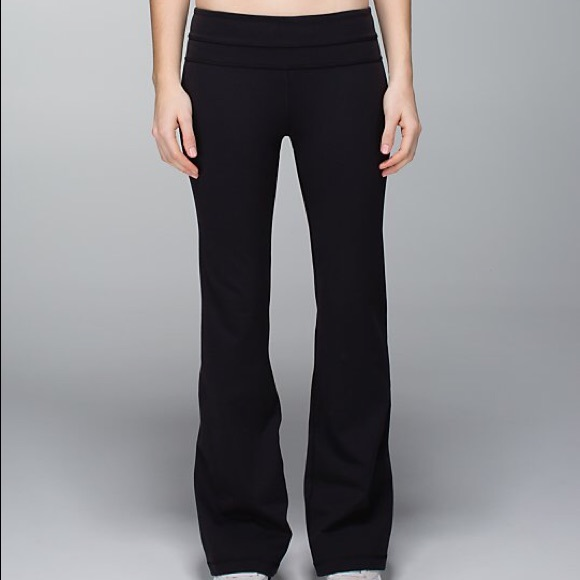 f3343bd1c6 lululemon athletica Pants - Lululemon Tall Groove Yoga Extra Long Flare  Pants