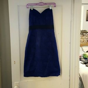 Navy/royal blue dress
