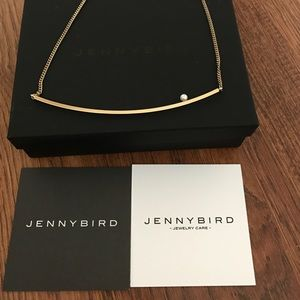 Jenny Bird Jewelry - NIB Jenny Bird pearl necklace in rose gold tone.