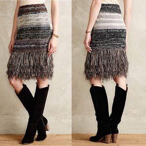 Anthropologie Dresses & Skirts - Anthropologie Gilded Sweater Skirt