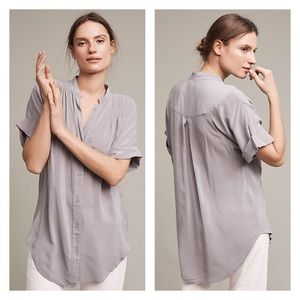 Anthropologie Tops - NWT Anthropologie Silk Blouse by Maeve