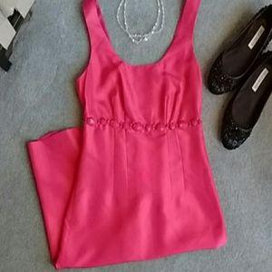 Boden Pink Silk Dress!