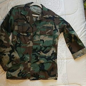 Thrifted Authentic military jacket
